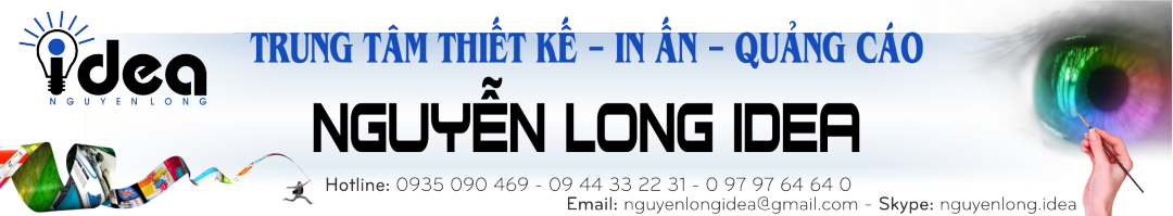Thiết kế in ấn bảng hiệu
