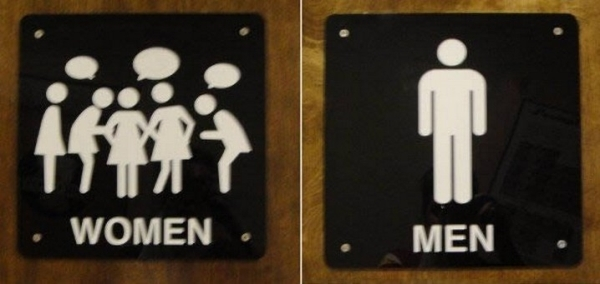 Bảng WC , Toilet