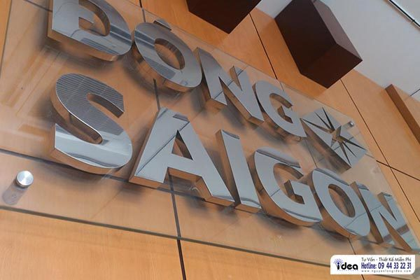 Cập nhật mẫu Làm bảng tên công ty giá rẻ quý III tại Tp.HCM | Bang hieu quang cao Nguyễn Long Idea