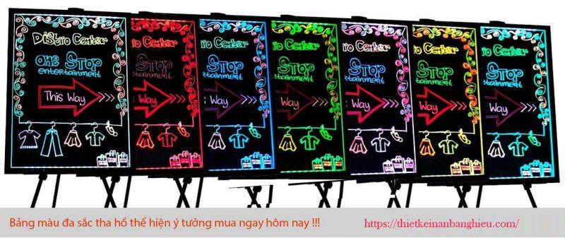 Bảng Huỳnh Quang - Bảng Đèn LED Viết Tay - Bảng Dạ Quang
