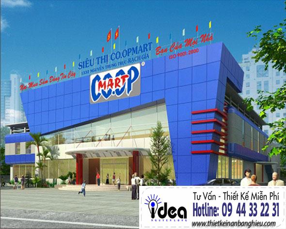 Bảng hiệu đẹp giá rẻ tại Tphcm - Bảng hiệu quảng cáo Nguyễn Long Idea