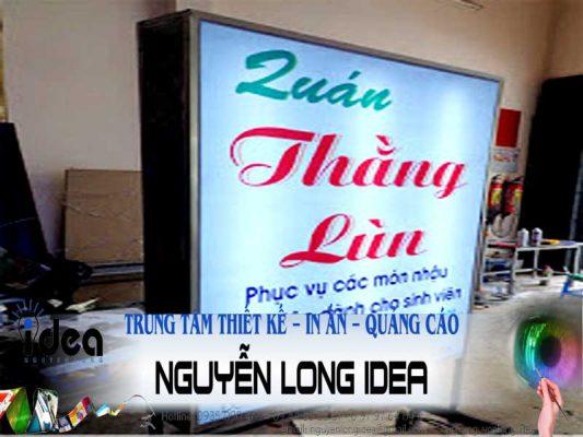 Quảng cáo bảng hiệu Nguyễn Long Idea