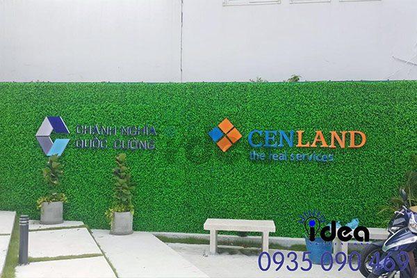 Vườn tường nhà phố hiện đại