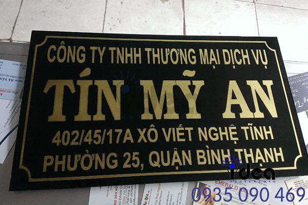 Gia Công Bảng hiệu inox ăn mòn giá rẻ Ảnh Nguyễn Long Idea
