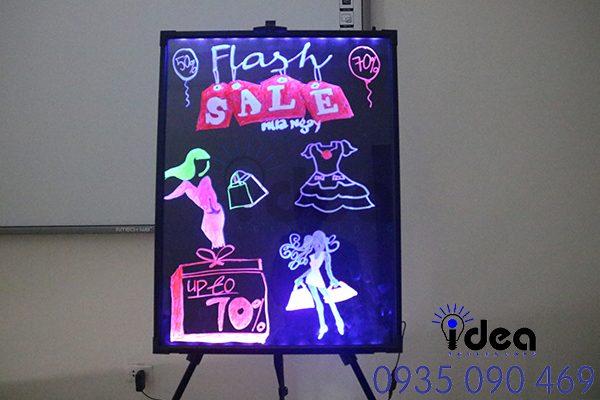 Cách sử dụng bảng led huỳnh quang