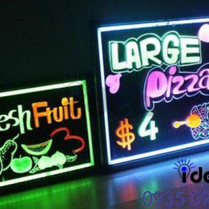 Bảng hiệu quảng cáo quán ăn vặt đẹp đèn Led
