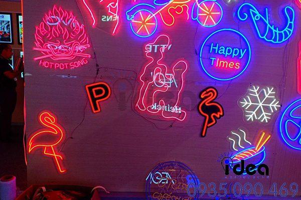 Led neon 12v đẹp nhiều màu
