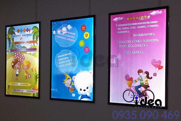 Poster hộp đèn đẹp lạ mắt