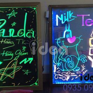 Bảng hiệu dạ quang, huỳnh quang đèn led đẹp