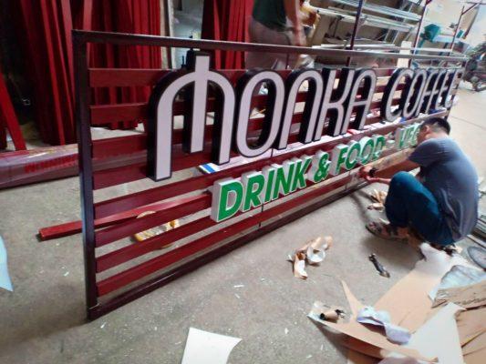 Mẫu bảng hiệu quảng cáo quán ăn vặt