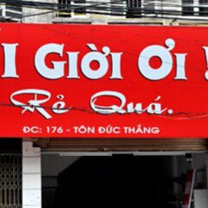 Làm bảng hiệu Alu - Mica - Led ma trận - Neon sign
