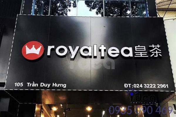 Nguyễn Long idea nhận thiết kế, thi công bảng hiệu các loại với giá cực rẻ