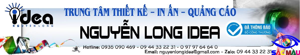 Làm bảng hiệu Nguyễn Long Idea