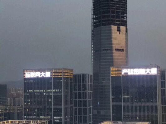 Bảng hiệu cho những công trình tòa nhà lớn