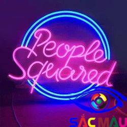 Làm bảng logo bằng neon sign